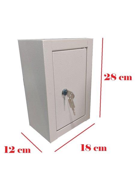 Tủ sắt mini tiết kiệm 12x15x20cm