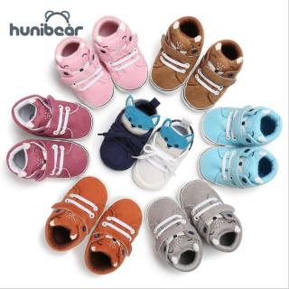 Giày Trẻ Em 0-18M Đế Mềm Hình Cáo Dành Cho Bé Trai Và Bé Gái