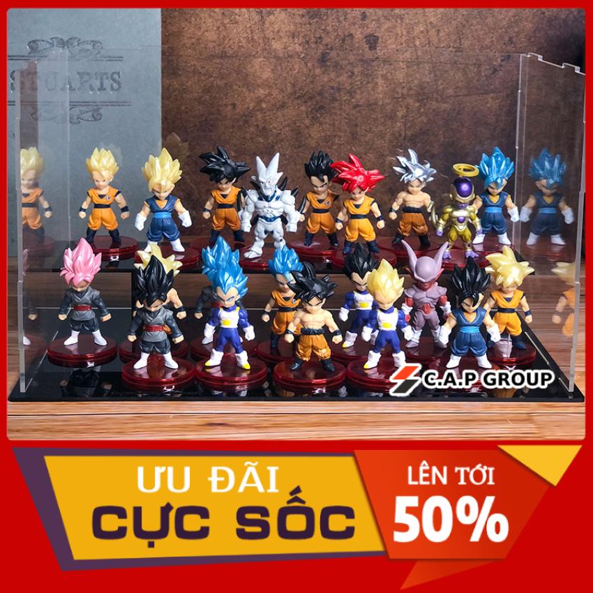 Mô Hình Dragon Ball Songoku Chibi mini Nhân Vật 7 Viên Ngọc Rồng đẹp -  [ Kiểu 1 Lẻ 19K / 1 nhân vật - Full bộ 21 nhân vật = 380K ]