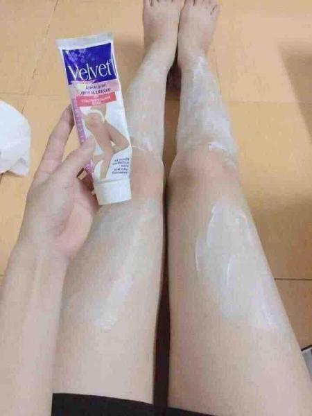 Kem tẩy lông Velvett -100ml nhập khẩu