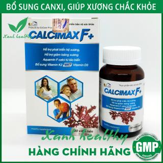Viên Uống Bổ Sung Canxi, Vitamin D3, Vitamin K2 Calcimax F+ Phát triển hệ xương, chắc khỏe xương, giảm loãng xương - Hộp 30 viên- Bổ sung canxi cho bà bầu thumbnail