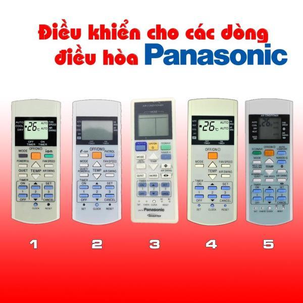 Điều khiển điều hoà Panasonic - Remote máy lạnh Panasonic [CHỌN MẪU THEO SỐ]