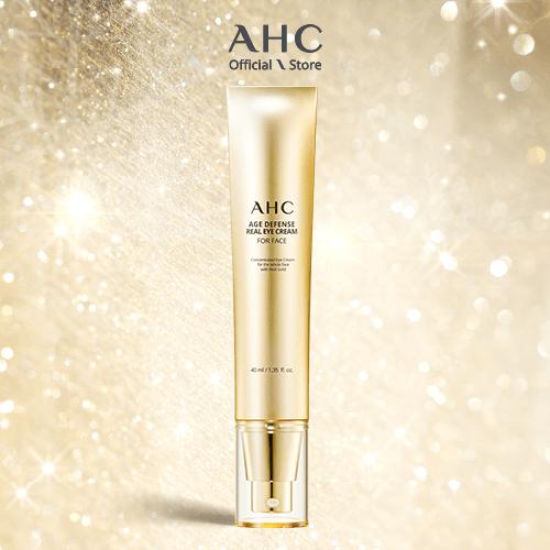 Kem Dưỡng Mắt Chống Lão Hóa Cho Toàn Mặt AHC Age Defense Real Eye Cream For Face 40ml