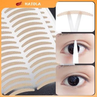 HATOLA - Miếng dán kích mí vân lưới siêu tàng hình set 40 cái dán tạo mí ren giúp đôi mắt to tròn tự nhiên thumbnail