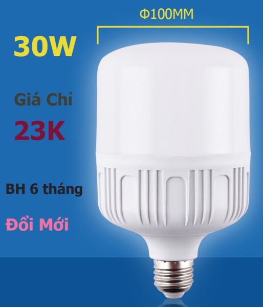 Bóng đèn LED trụ 20W 30W 40W ánh sáng TRẮNG