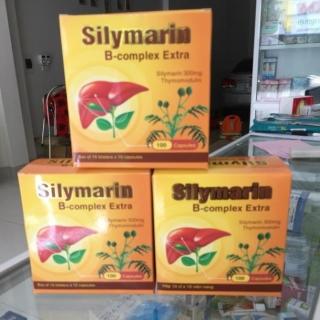 Viên uống bổ gan, tăng cường chức năng gan, giải độc gan Silymarin 30mg - Hộp 100 viên thành phần cà gai leo, thumbnail