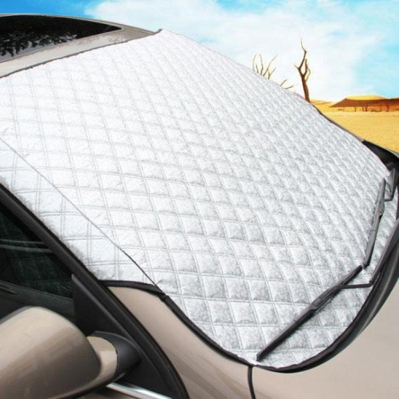 Tấm che nắng kính lái ô tô chất liệu 3D tráng nhôm phản quang