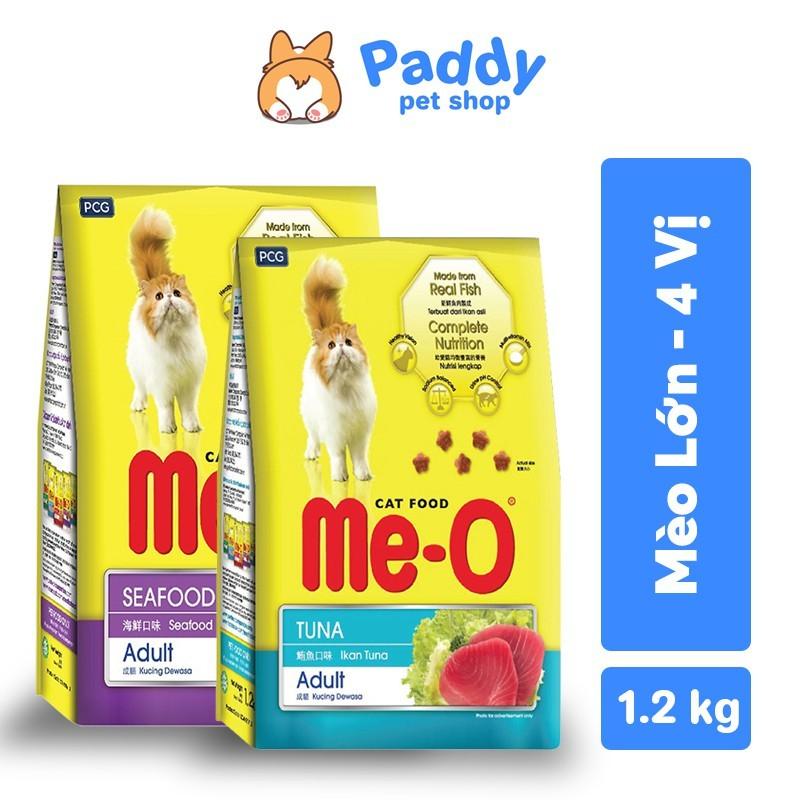 [1.2kg] Me-O Thức ăn hạt cho mèo trưởng thành - Cá hồi