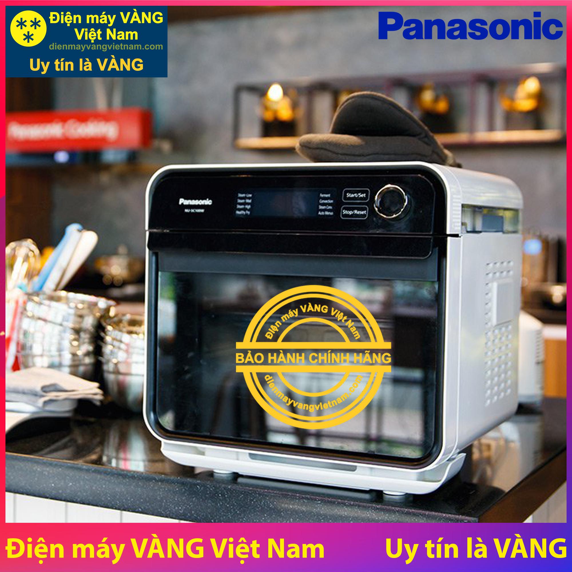Coupon Giảm Giá Lò Hấp Nướng đối Lưu đa Năng Panasonic NU-SC100WYUE - Hàng Chính Hãng