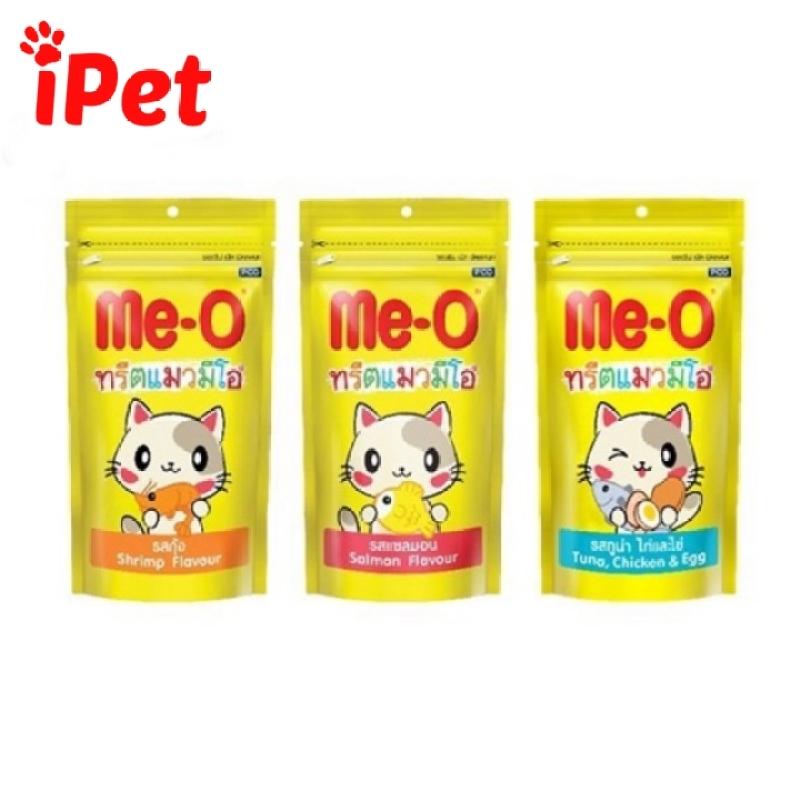 Bánh Snack Thưởng Me-o Cho Mèo 3 Vị Gói 50g - iPet Shop