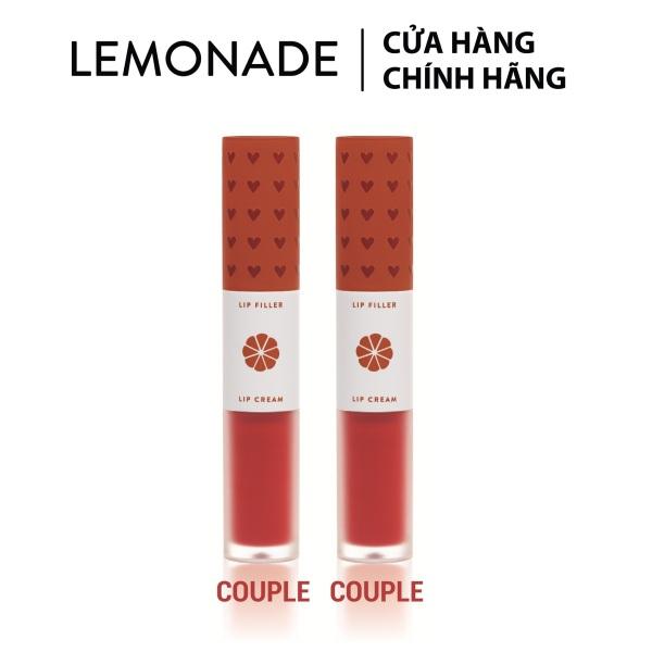 Combo 2 son Lemonade Perfect Couple Lip Love collection (2 cây x 7.5g)