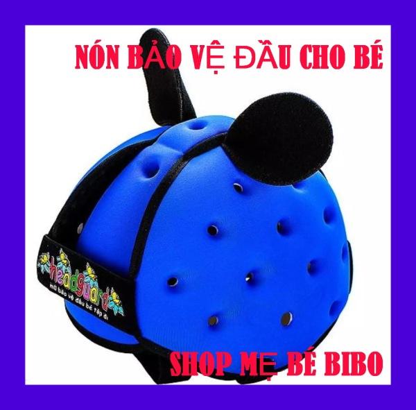 Giá bán [HCM]Mũ bảo hiểm bảo vệ đầu trẻ em HEADGUARD(Nón an toàn cho bé tập bò tập đi đạp xe - Bảo hành 6 tháng)