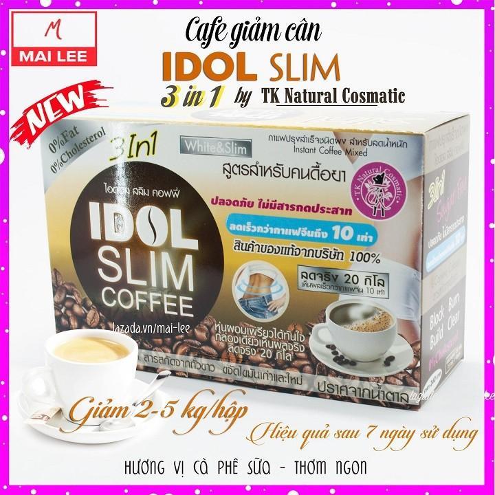 Giảm cân cafe Idol 3in1 hàng Thái Lan – Mẫu mới năm 2019 nhập khẩu