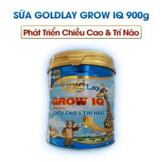 Sữa Goldlay Grow IQ date 2022 - Phát Triển Chiều Cao - 900gr thumbnail