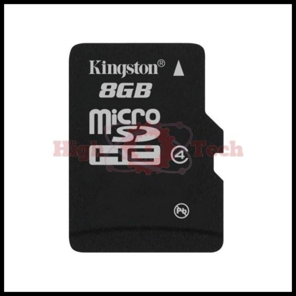 Thẻ nhớ micro SDHC Kingston 8GB Class 4 (hàng TRAY) + Hộp nhựa