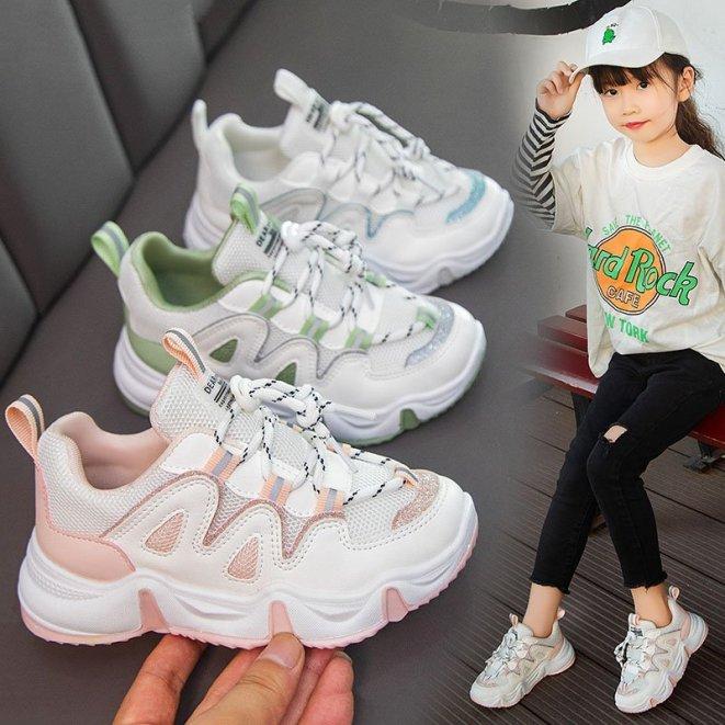 Giày thể thao cho bé gái và bé trai giày thể thao trẻ em phong cách Hàn Quốc đi êm chân giá rẻ