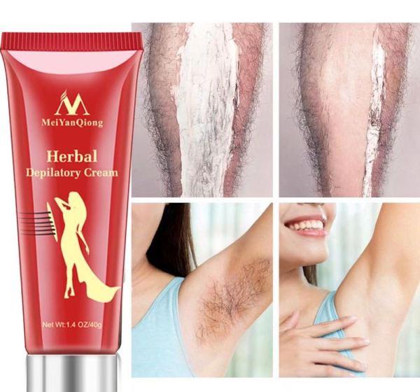 MeiYanQiong Kem Tẩy Lông Cao cấp Tẩy Sạch Và An Toàn Cam Kết Hiệu Quả Sử Dụng Được Cho Da Mỏng, Da Nhạy Cảm [ vùng chân, tay, nách và bikini, tẩy sạch cả lông cứng nhất ] nhập khẩu