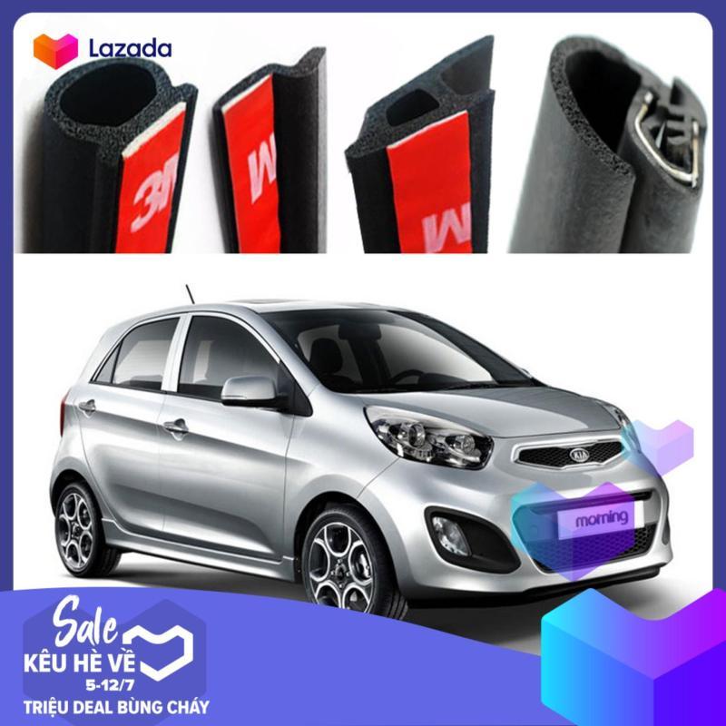 Gioăng cao su chống ồn đầy đủ cho xe hơi KIA Rondo  (Gioăng D, P, Z, B lõi thép)