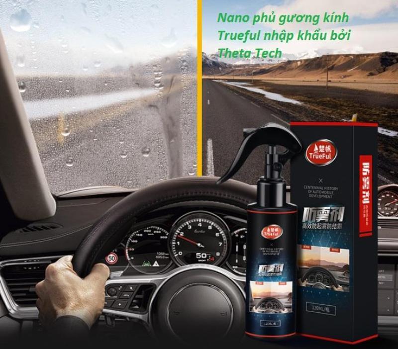 Dung dịch Nano phủ Gương và Kính ô tô công nghệ Nhât Bản - TrueFul 120 mL