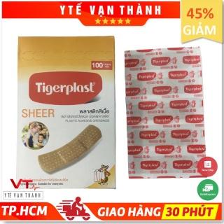 [Hộp 100] Băng Keo Cá Nhân Tigerplast SHEER (Made in Thailand) - [Y Tế Vạn Thành] - Mã SP VT0355 thumbnail