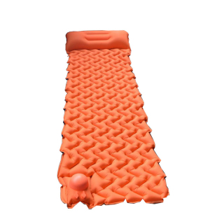 Camping Mat Inflatable Sleeping Pad Moistureproof Air Mattress Cushion Sofa Bed Outdoor Beach Mattress with Pillow thumbnail