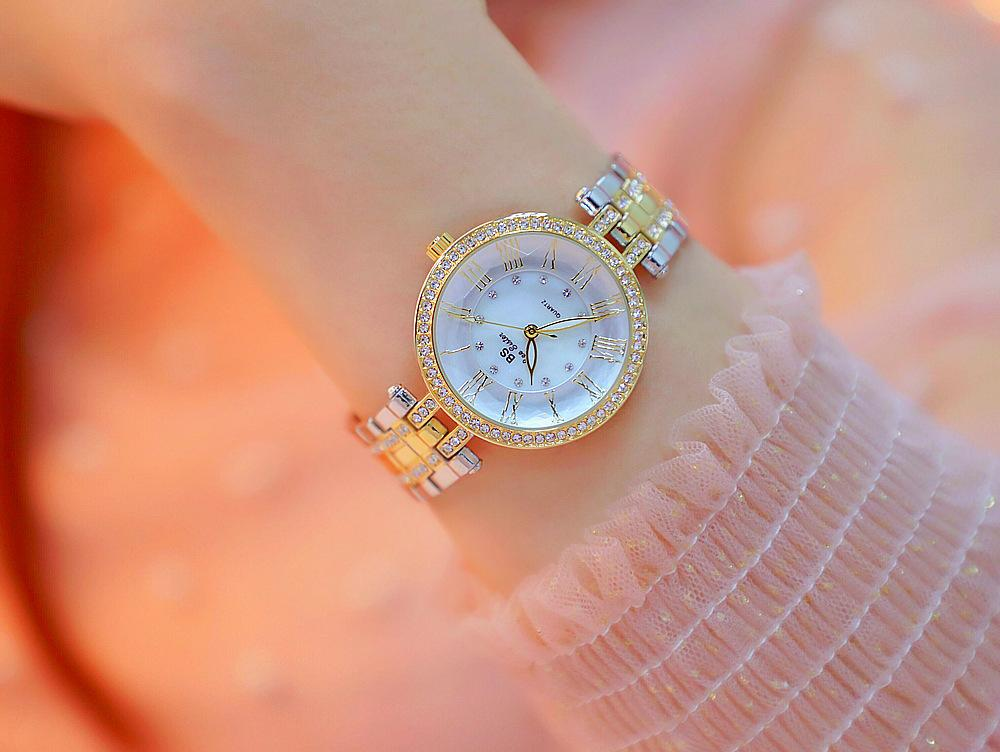 Nơi bán Đồng hồ nữ Bs Bee sister FA 1588 luxury Gold Silver