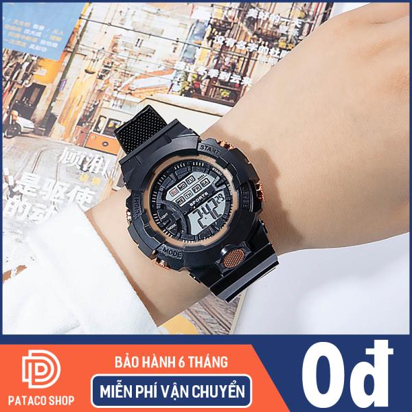 Nơi bán (Tặng kèm hộp) Đồng hồ thể thao Unisex mẫu mới chạy điện tử SP125 dây Silicon bền bỉ chống nước tốt bảo hành 6 tháng