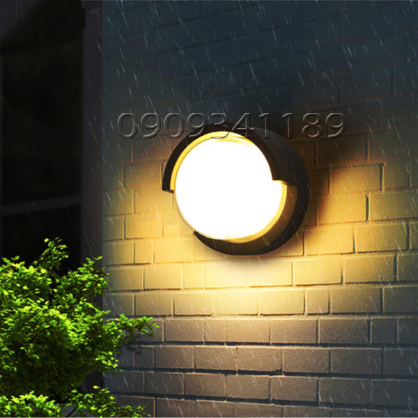 Đèn Led treo tường gắn tường ngoài trời trong nhà Led 10W 3500K VNT605A