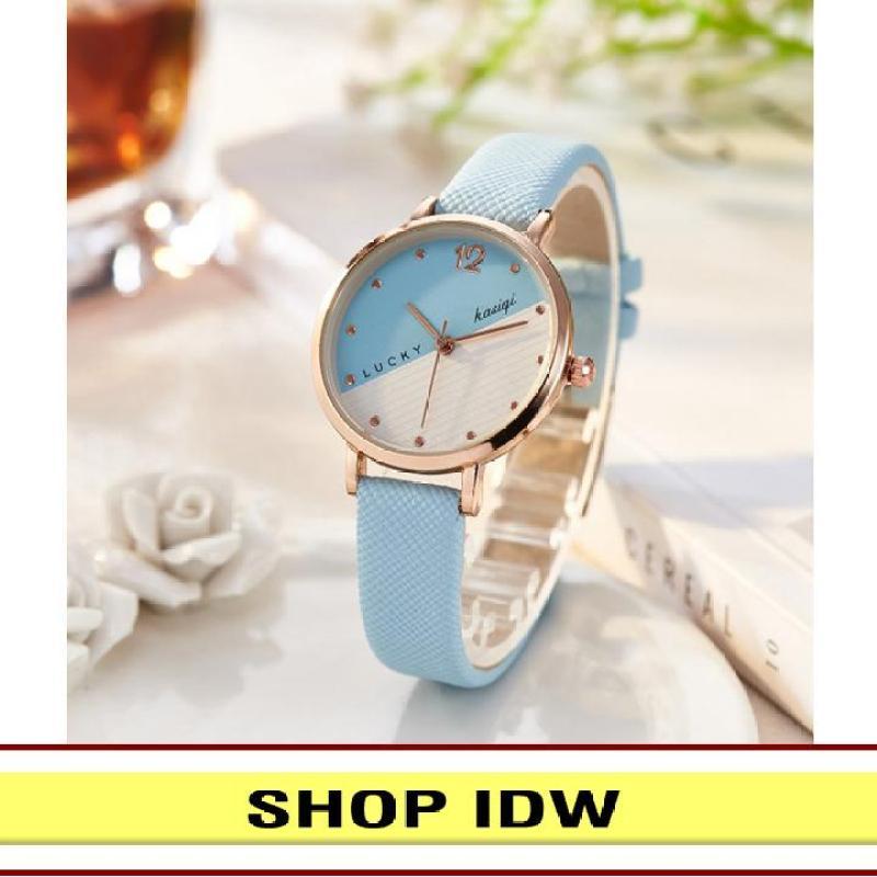 Nơi bán [Có video quay thật] Đồng hồ nữ dây da thời trang Kasiqi IDW S2881 (Nhiều màu lựa chọn)