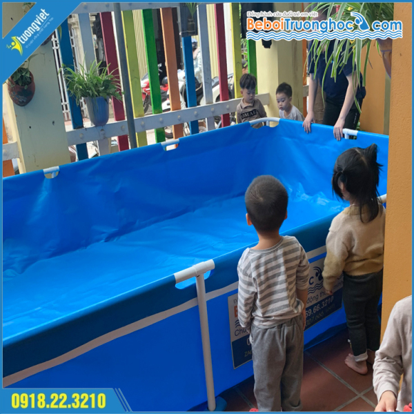 Bể bơi mini lắp ghép KT 2.8x1.6x0.6m