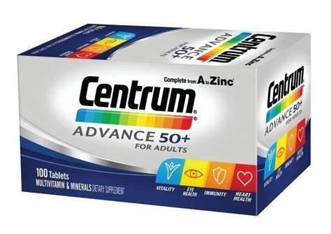 Vitamin tổng hợp Centrum người 50+