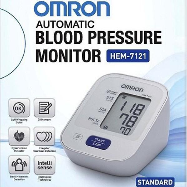 Máy đo huyết áp bắp tay tự động Omron Hem-7121 Nhật Bản, sản phẩm đa dạng, chất lượng tốt, đảm bảo an toàn sức khỏe người sử dụng cao cấp