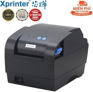 Miên Phi Vận Chuyển - Máy In Mã Vạch Xprinter XP-330B Cao Cấp - Máy In Tem Nhãn Mã Vạch XP-330B (khổ in 80mm, in nhiệt trực tiếp lên giấy decal) - Máy in mã vạch thời trang cao cấp XPRINTER XP-330B - May in ma vach gia re - May in nhiet cao cap thumbnail