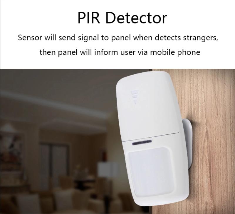Cảm biến hồng ngoại Tuya - RF 433 kết hợp với bộ chống trộm Wifi Tuya