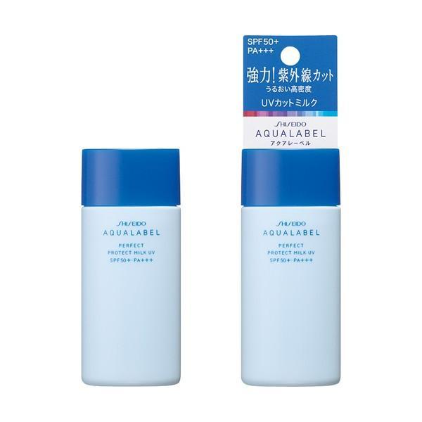 Sữa dưỡng ngày chống nắng Shiseido Aqualabel Perfrect Protect Milk UV SPF50+/ Pa+++ 45ml tốt nhất