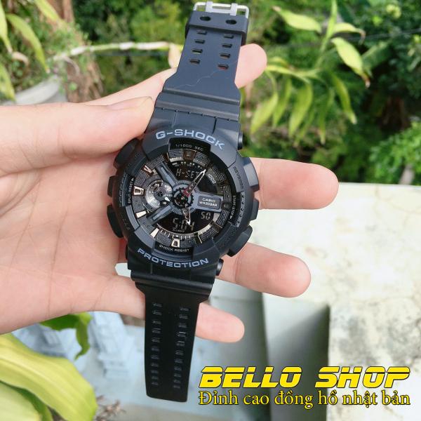 Đồng hồ nam G-Shock GA110 (15 MÀU LỰA CHỌN) thể thao nam nữ, Chống nước 200M,Tặng kèm pin dự phòng, Bảo hành 12 tháng - BELLO STORE bán chạy