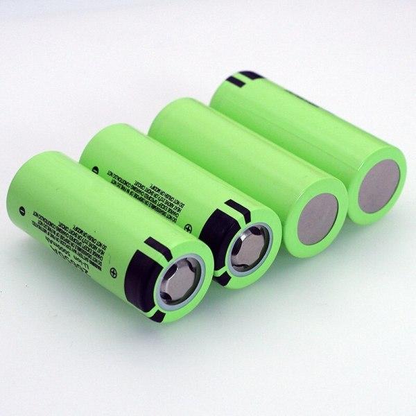 Combo 5 viên - Cell pin 26650 Panasonic NCR26650A dung lượng 5.000 mAh dòng xả tối đa 25A