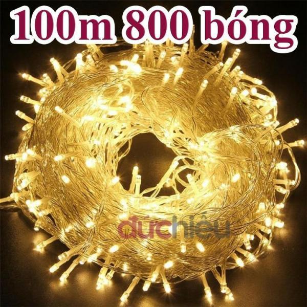 Bảng giá Đèn nháy chớp LED 100m vàng đèn trang trí noel Mới
