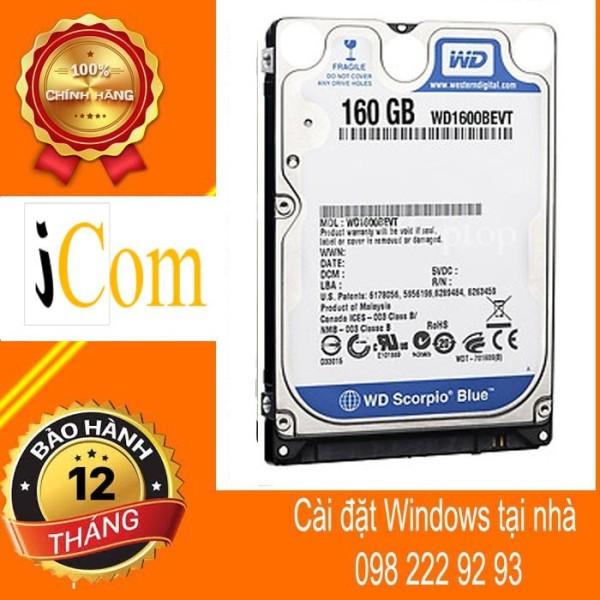 Bảng giá HDD Laptop WD 160GB Phong Vũ