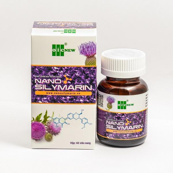 Tăng cường chức năng gan, hỗ trợ điều trị viêm gan – OIC Nano Silymarin
