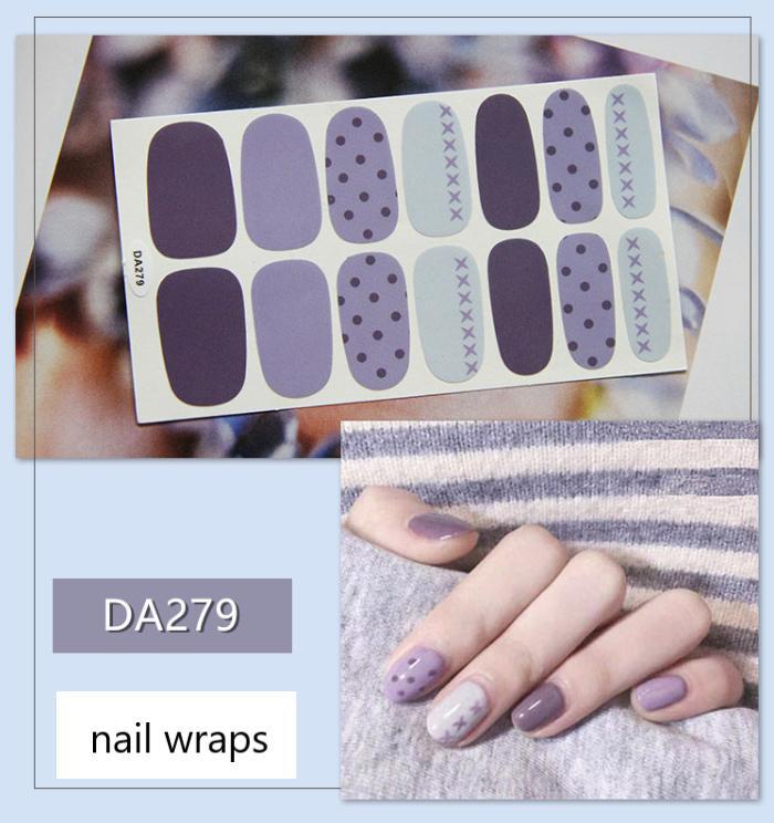 Dán móng tay Stickers Nail Wraps Nghệ thuật Phong cách Hàn Quốc tốt nhất