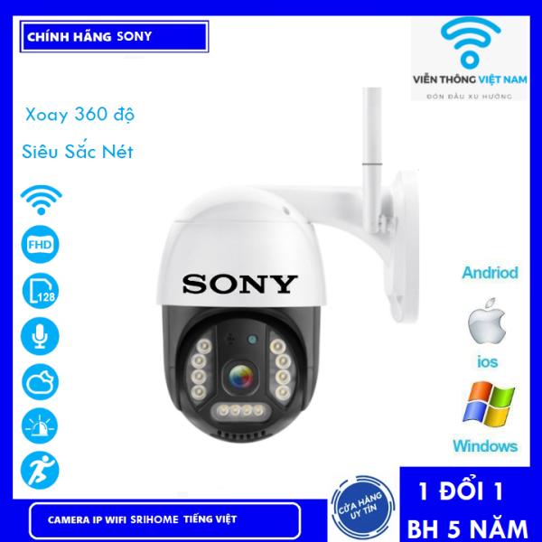 ( TÙY CHỌN Camera Thẻ 128GB Yoosee Bảo Hành 60 Tháng ) Camera Wifi Sony PTZ Xoay 360 Độ 3.0 Ngoài Trời - Trong Nhà 3.0 Mpx Full Hd 1080P , Siêu Chống Chịu Thời Tiết
