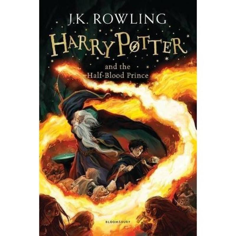 Sách Ngoại Văn: Harry Potter And The Half Blood Prince - Harry Potter và Hoàng Tử Lai. Tập 6
