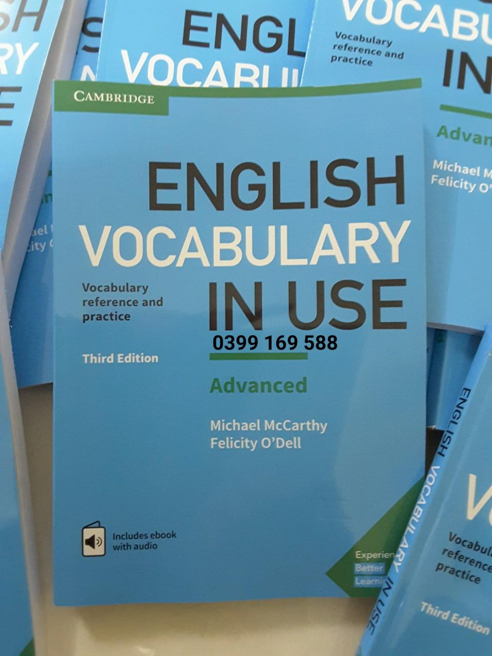 Cambridge English Vocabulary in Use Advanced 3rd Edition with answer