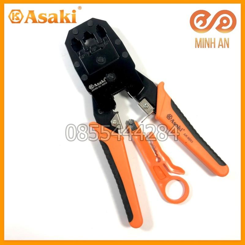 Kìm Bấm Mạng 8Inch/200Mm Asaki Ak-9003
