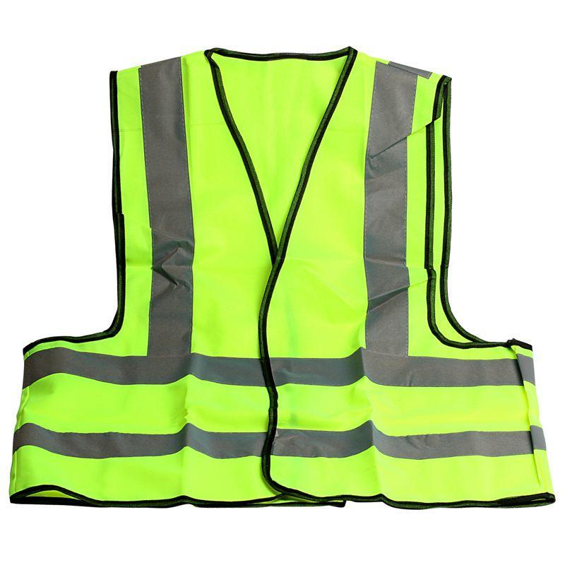 Safety vest reflective vest 68 cm ventilation signal vest M