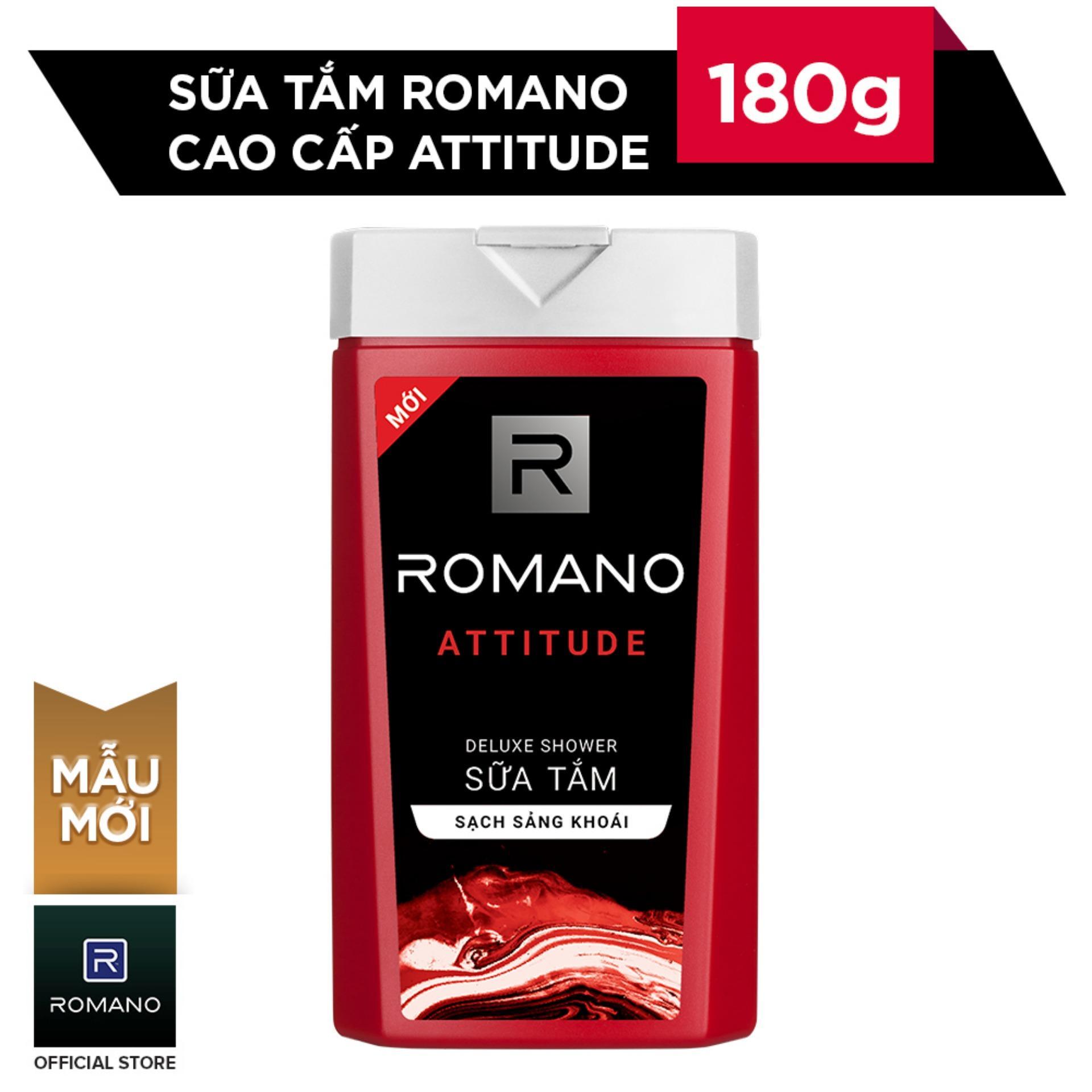 Romano sữa tắm cao cấp attitude 180g nhập khẩu