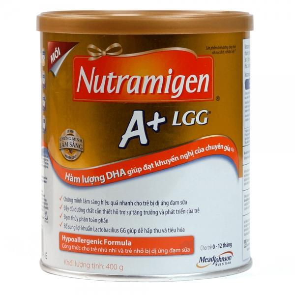 Sữa bột Nutramigen LIPIL A+ LLG 400g (0-12 tháng)