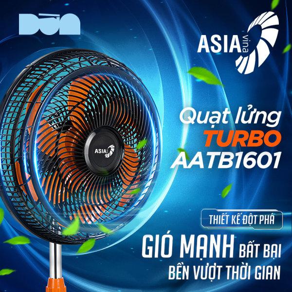 Quạt lửng Asia TURBO 6 cánh (Giao nhanh trong ngày Nowship/Grabship) - bán công nghiệp - ASATB1601-DV0