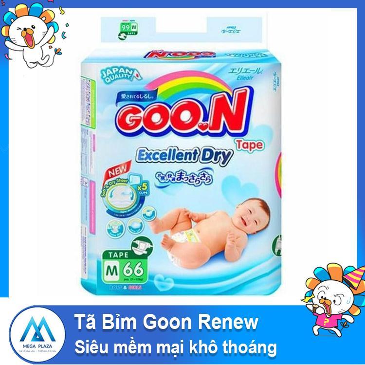 Tã Bỉm Goon Renew mềm mại khô thoáng - Tã quần/ tã dán S44-M38- L32-L56-XL30- M32-M60-L26-L48-XL22-XXL20-XXL34-XXXL26